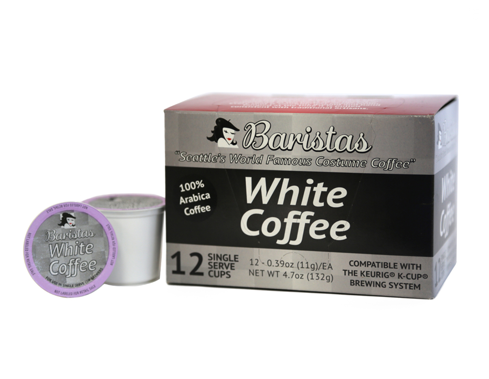 Baristas™ White Coffee Single Serve Cups